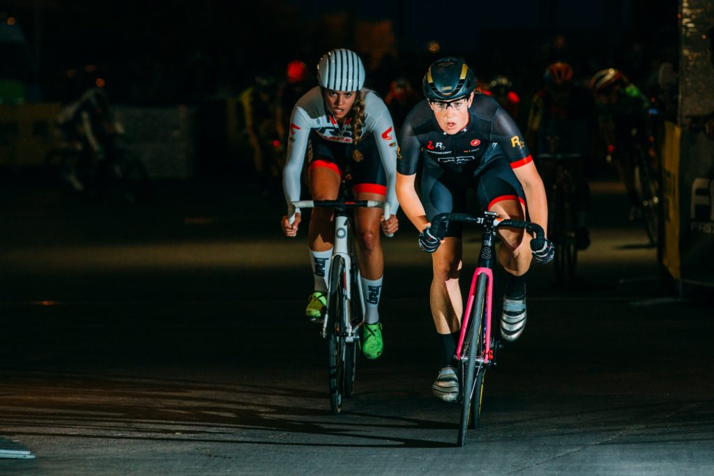Tanja Erath in Final of Zwift Academy for a spot in the